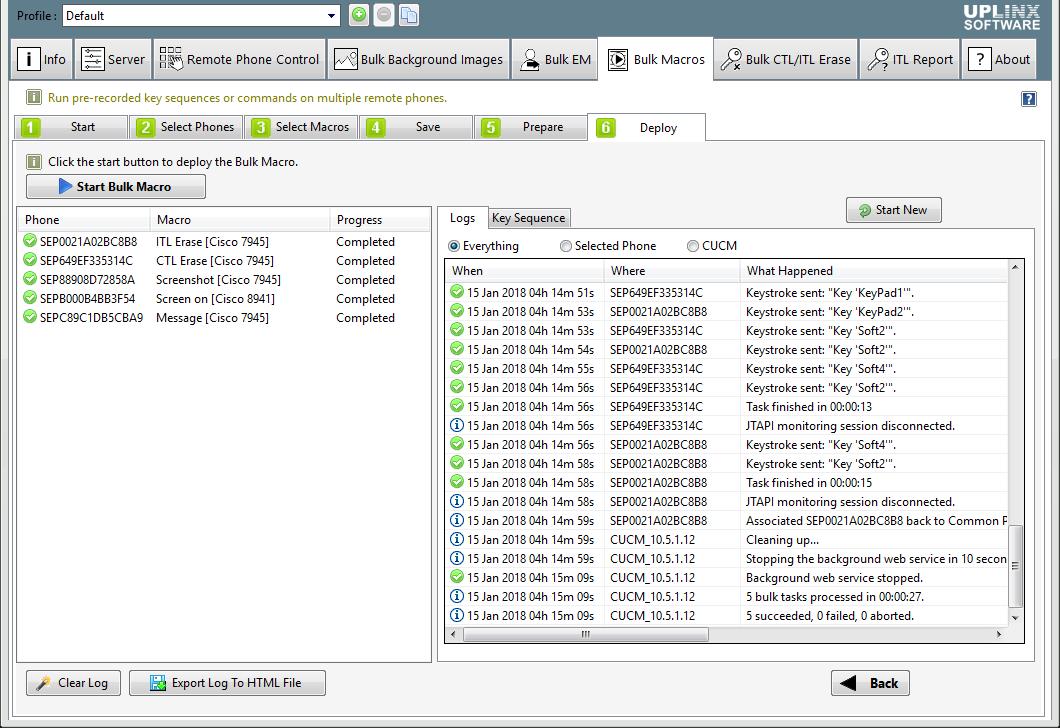 Cisco 7945 Unlock Settings