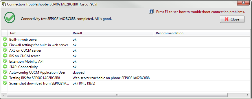 UPLINX Remote Phone Control for Cisco Unified Communications