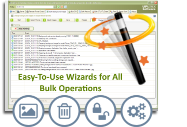 Easy-To-Use Wizards for all Bulk Operations
