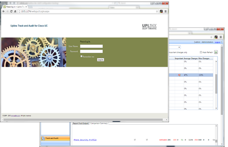 Uplinx Track & Audit - système professionnelle niveau grandes enterprises