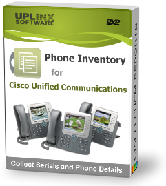 Phone Inventory Tool for Cisco