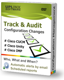 Track and audit configuration for Cisco